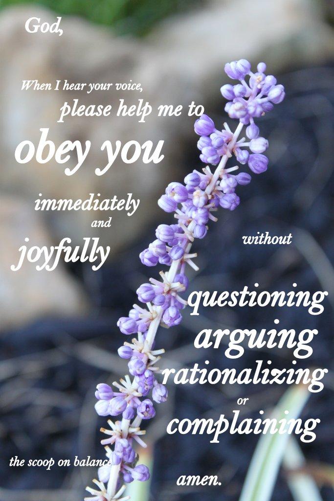 Help Me Obey