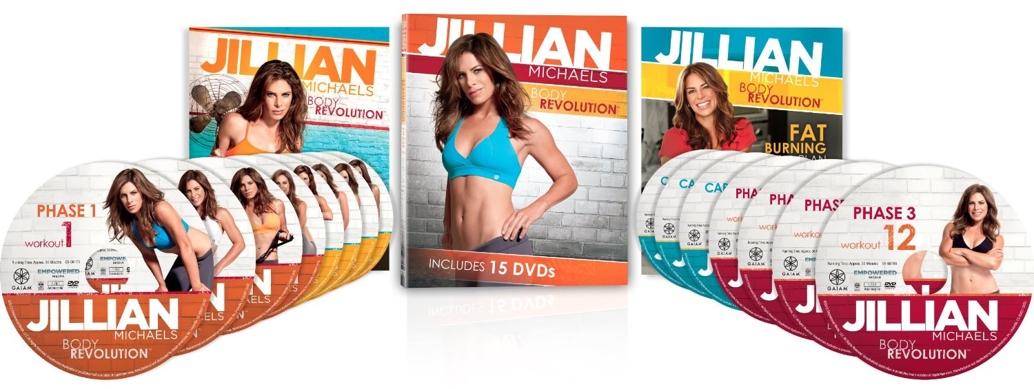 Jillian Michaels 90 Day Body Revolution