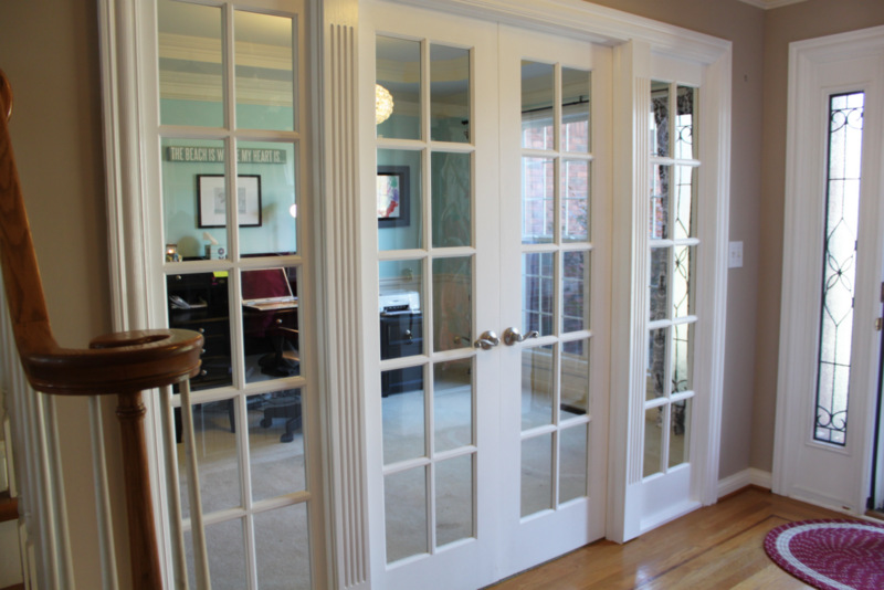 French Doors Office Wanna See My New Office