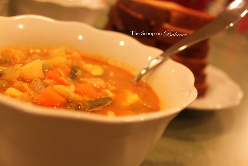 Recipe :: Vegetable Soup