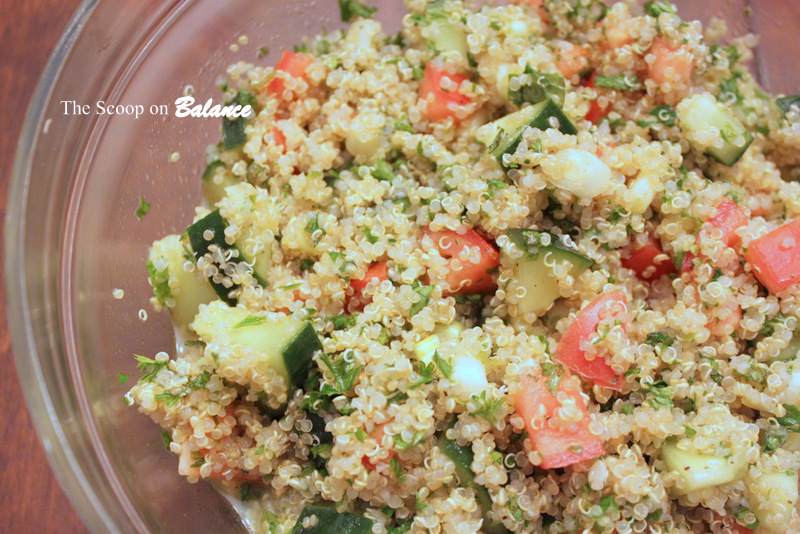 Fitness Friday :: Quinoa Tabbouleh Salad