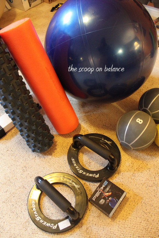 Fitness Friday :: The Essential Elements of a Home Gym