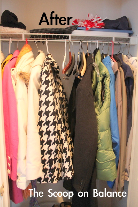 Coat Closet After