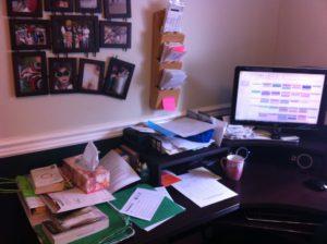 the desk disaster