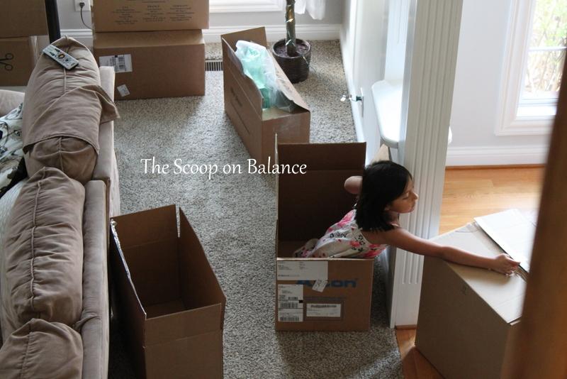 Moving Elliana