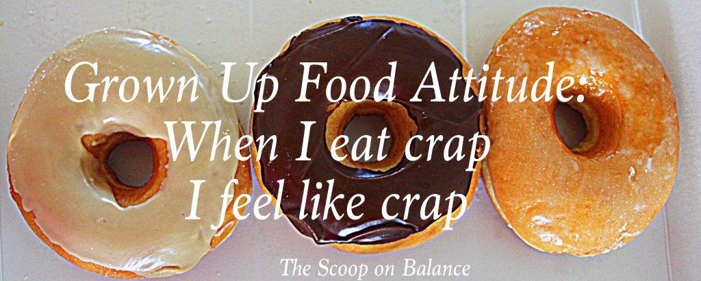 When I eat crap