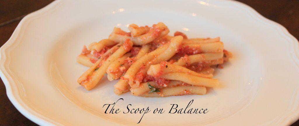 Recipe:  Homemade Pasta Sauce