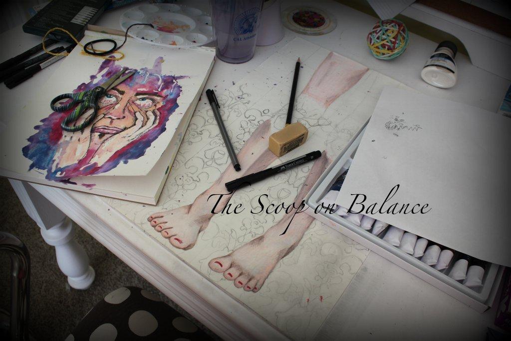Rebekah's Desk