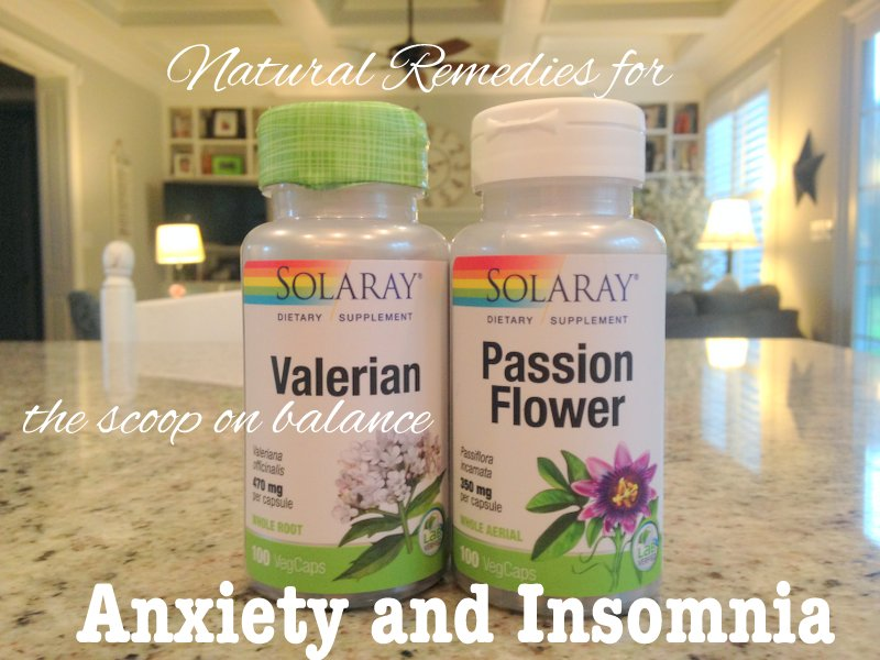 Passionflower and Valerian Root for Anxiety