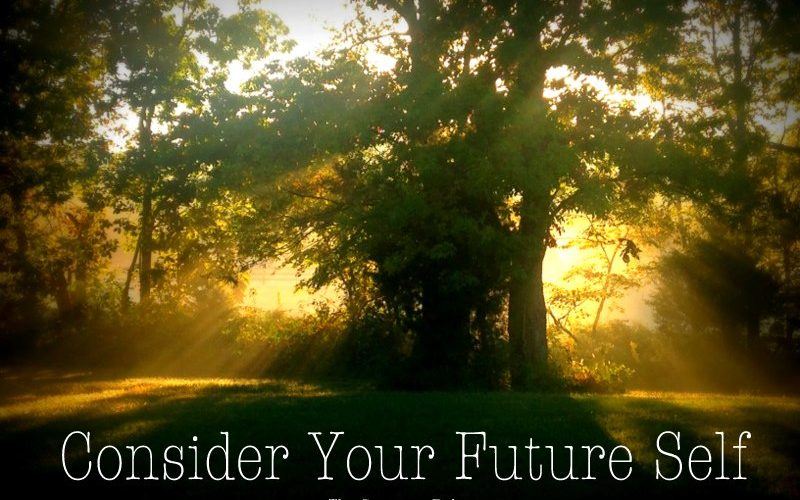 Balance Tip: Consider Your Future Self